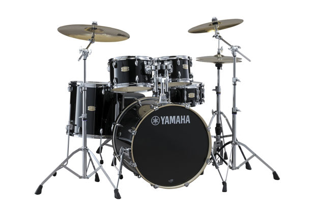 Yamaha Stage Custom Birch SBP2F5RBL Shell Pack Raven Black