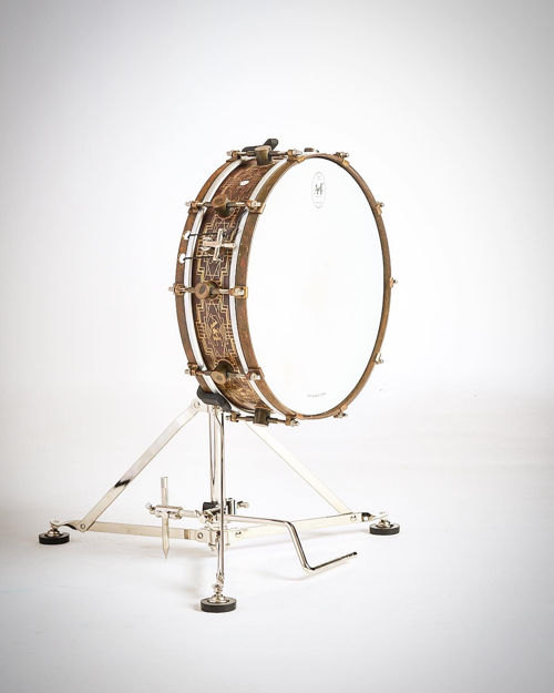 A&F Nickel Pedal Attachment for Snare Stand