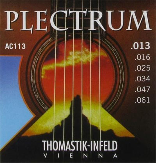Thomastik-Infeld Strings for Acoustic Guitar Plectrum Acoustic Series Set - AC113