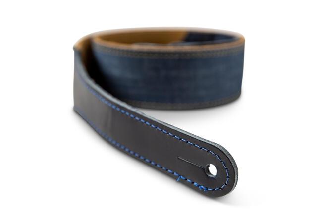 "TaylorWare 4301-20 Taylor Blue Denim Strap,Gold Logo,2"""