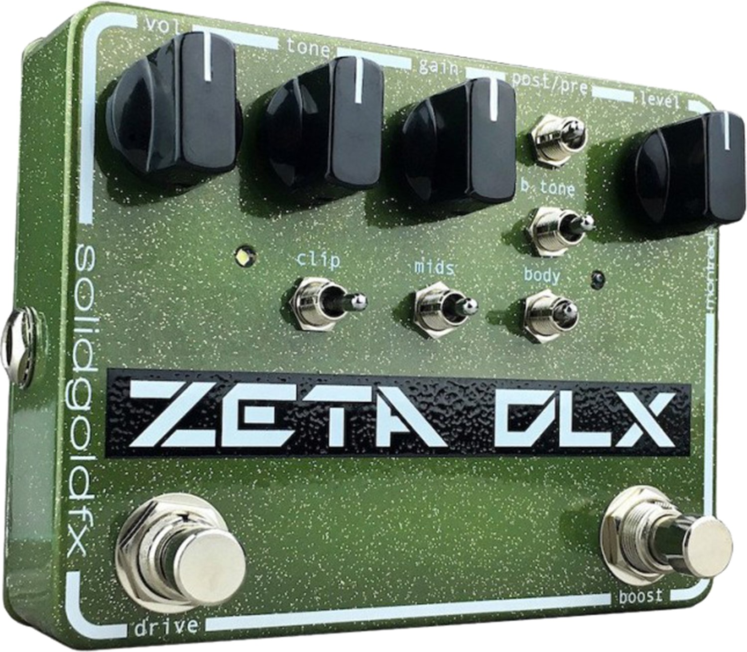 DEMODEAL   SolidGoldFX - Zeta DLX  - Deluxe Guitar Preamp / Overdrive / Boost