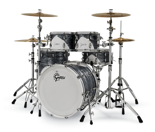 Gretsch shell set Renown 57 Limited Silver Oyster Pearl