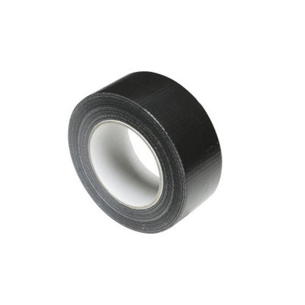 Adam Hall 58063 BLK - Gaffer adhesive Premium Tape black 50mm x 50m | pris pr stk