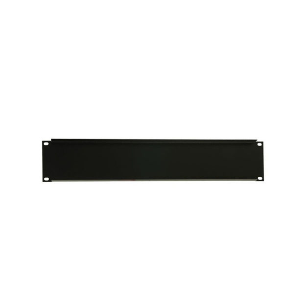 """Adam Hall 19"""" Parts 87222 STL - 19"""" U-Shaped Rack Panel 2 U Steel"""