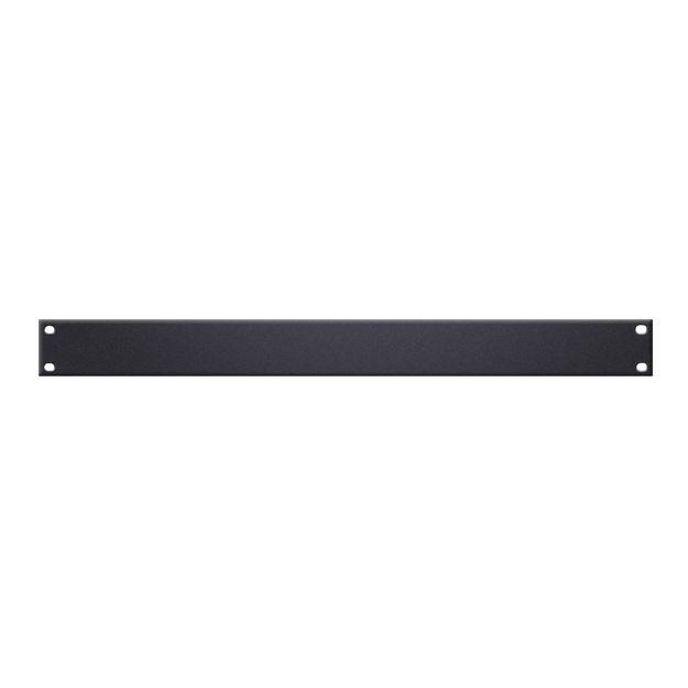 """Adam Hall 19"""" Parts 87221 STL U-Shaped Rack Panel 1 U Steel"""