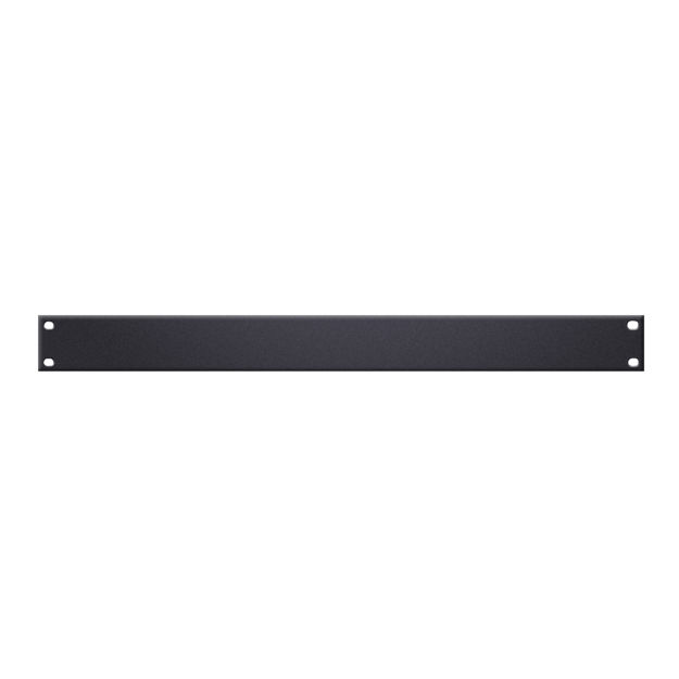 "Adam Hall 19"" Parts 87221 U-Shaped Rack Panel 1 U Aluminium"