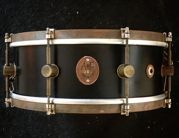 A&F 5,5x14 Club Snare, Maple- Brass Hoops