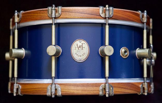 A&F 5,5x14 Chandler Blue Club Snare, RW Hoops