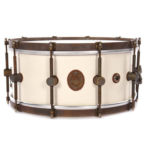 A&F 4x15 Club Snare, White