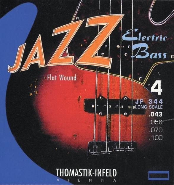 Thomastik-Infeld E-Bass Strings Jazz Bass Flat wound Set 4-string short - JF324