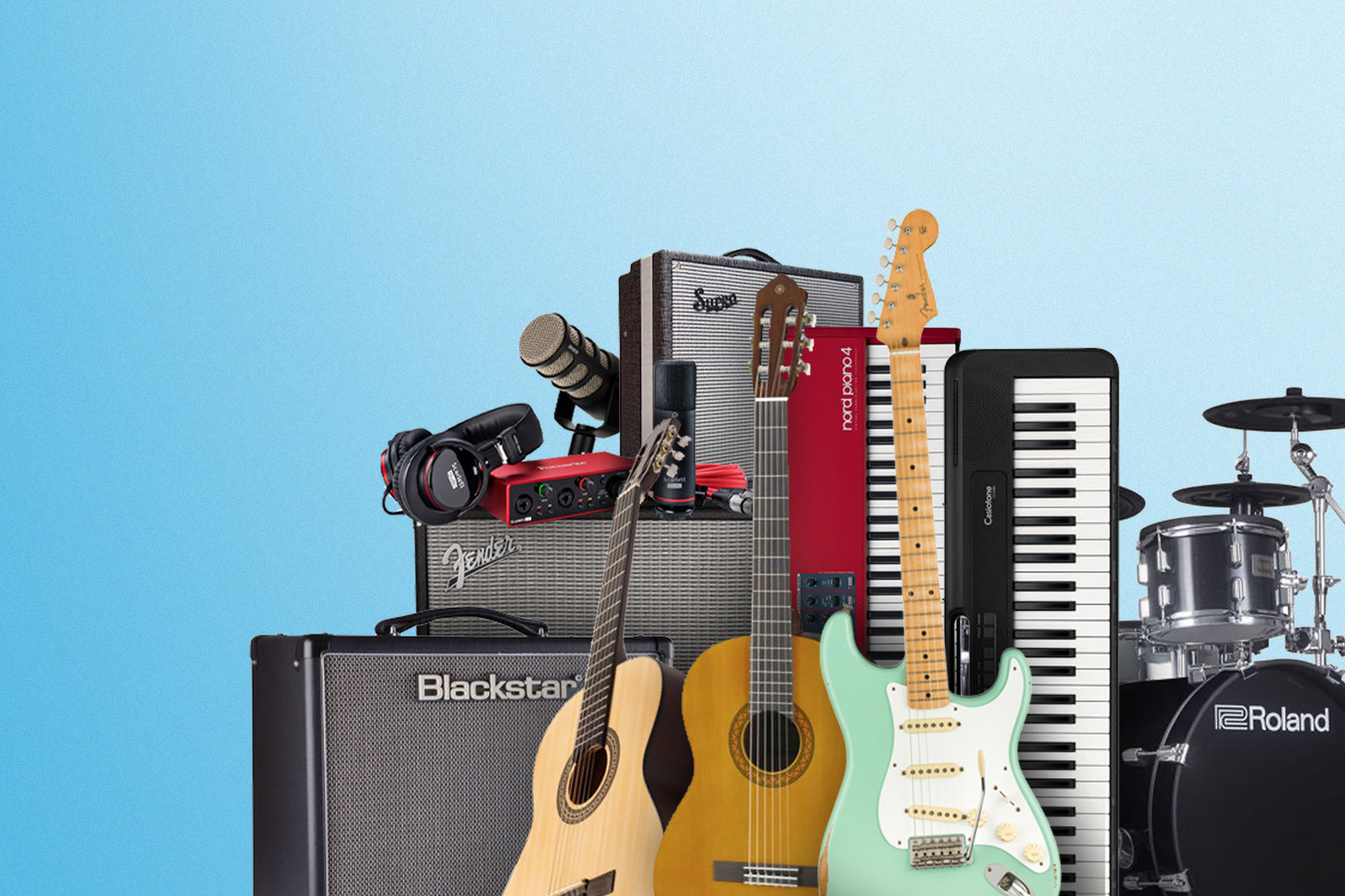 Bilde for kategori Strengeinstrumenter