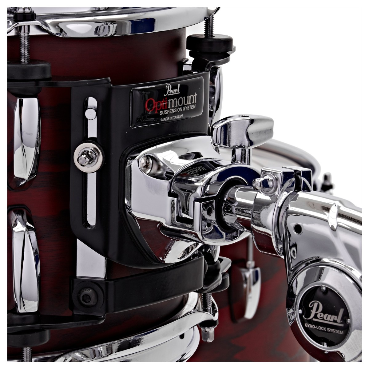 Pearl Session Studio Select 4 pc Shell Pack   Scarlet Ash 2216BX/1007T/1208T/1616F
