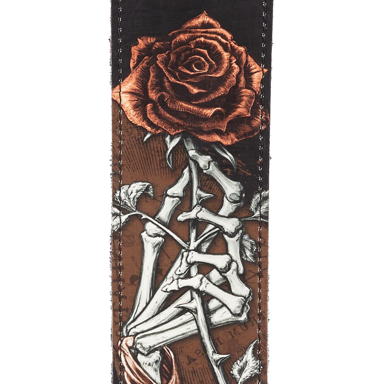 Alchemy Leather Guitar Strap, Cryptorosa
