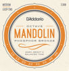 D'Addario EJ80 Phosphor Bronze Octave Mandolin Strings, Medium, 12-46