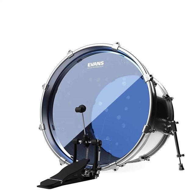 Evans Hydraulic Blue Bass Drum Head, 20 Inch