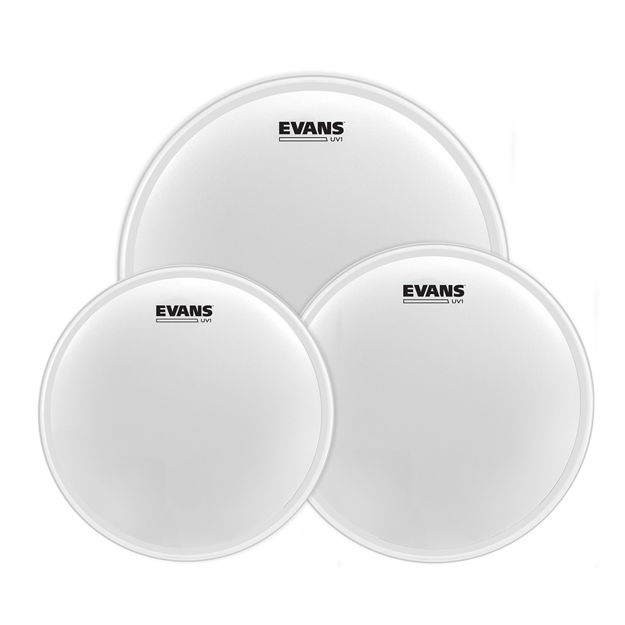 "Evans UV1 Coated Tom Pack-Standard (12"", 13"", 16"")"