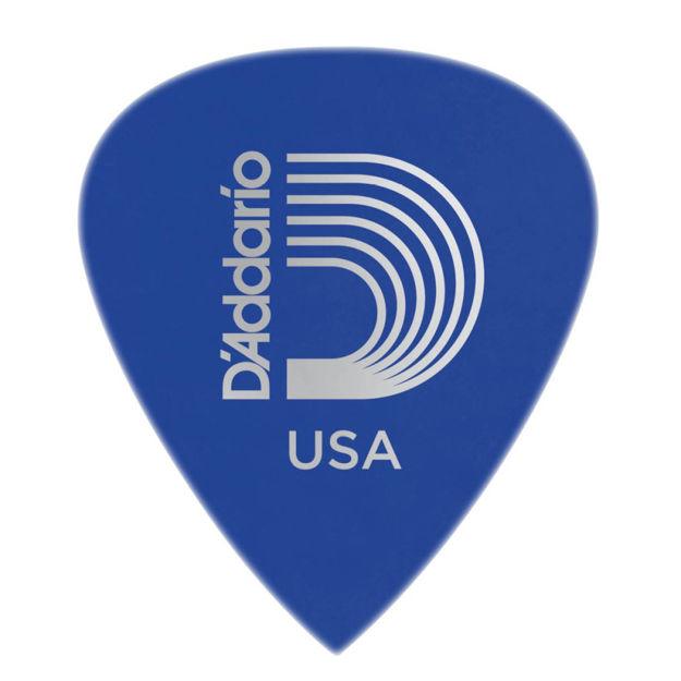 D'Addario Duralin Precision Guitar Picks, Medium/Heavy, 25 pack