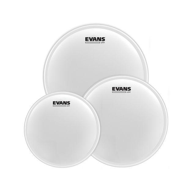 "Evans UV1 Coated Tom Pack-Rock (10"", 12"", 16"")"