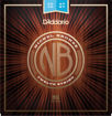 D'Addario NB1047-12 Nickel Bronze Acoustic Guitar Strings, 12-String, Light 10-47
