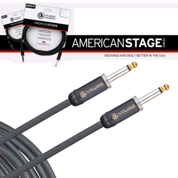 D'Addario American Stage Instrument Cable, 30 feet