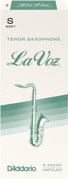 La Voz Tenor Saxophone Reeds, Soft, 5 Pack