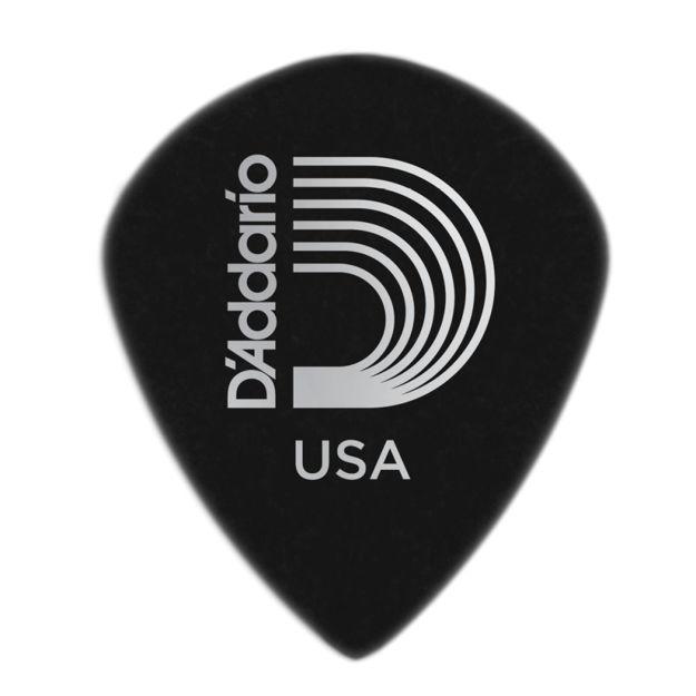 D'Addario Black Ice Guitar Picks, 25 pack, Heavy