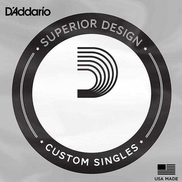 D'Addario NHR070 Half Round Bass Guitar Single String, Long Scale, .070