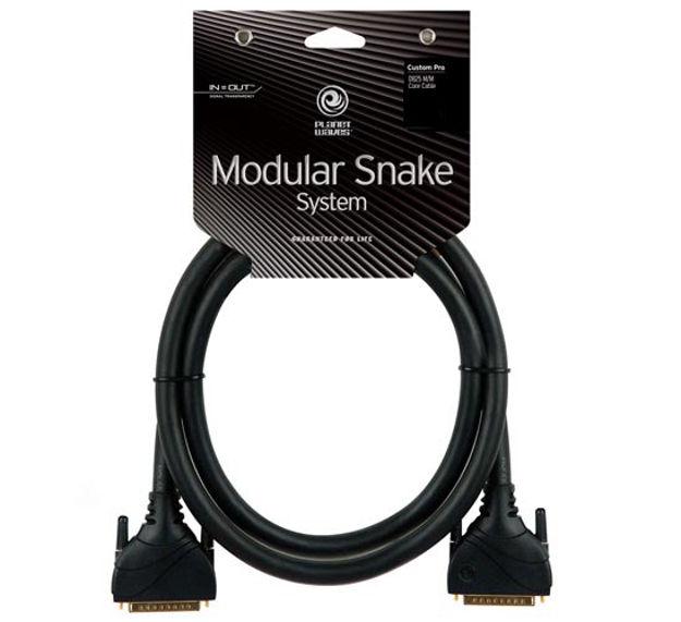 D'Addario Modular Snake DB25 Core, 25 feet