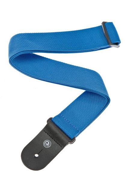 D'Addario Polypropylene Guitar Strap, Blue