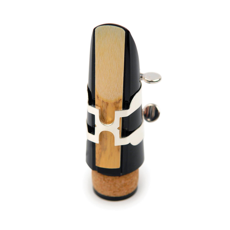 D'Addario H-Ligature & Cap, Bb Clarinet, Silver
