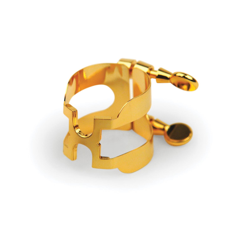 D'Addario H-Ligature & Cap, Soprano Saxophone, Gold