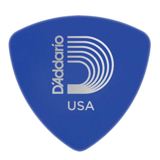 D'Addario Duralin Guitar Picks, Medium/Heavy, 25 pack, Wide Shape