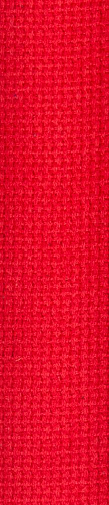 D'Addario Cotton Guitar Strap, Red