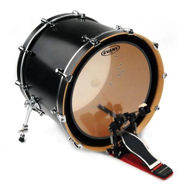 Evans GMAD™ Clear Bass Drum Head, 18 Inch
