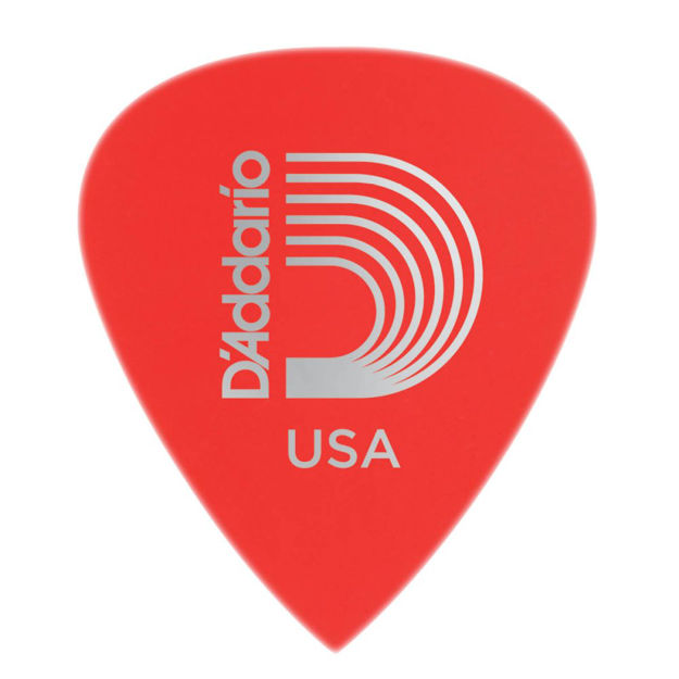 D'Addario Duralin Precision Guitar Picks, Super Light, 25 pack