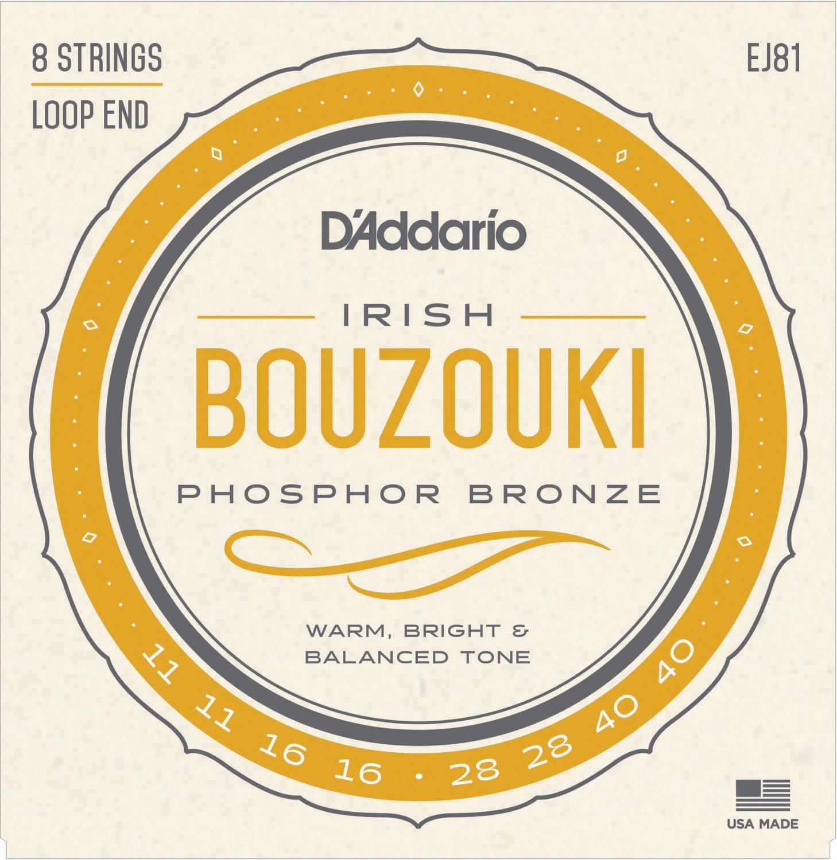 D'Addario EJ81 Irish Bouzouki Strings
