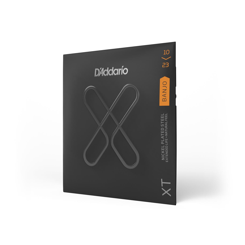 D'Addario XT Banjo Nickel Plated Steel, Medium, 10-23