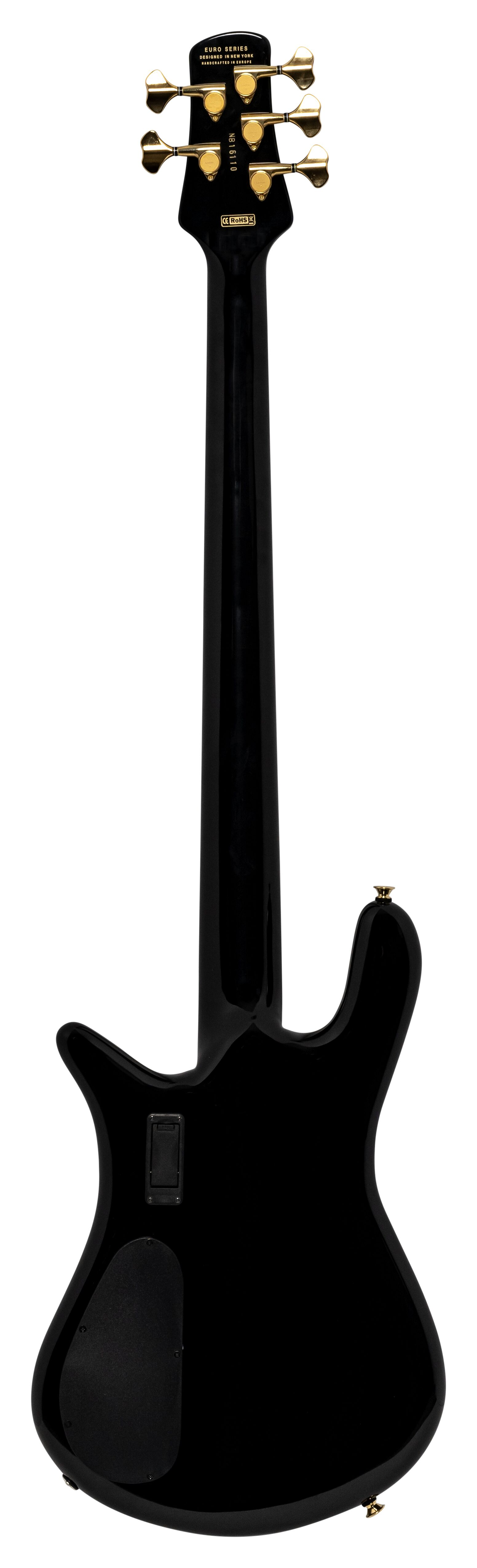 Spector Euro Classic5, Solid Black