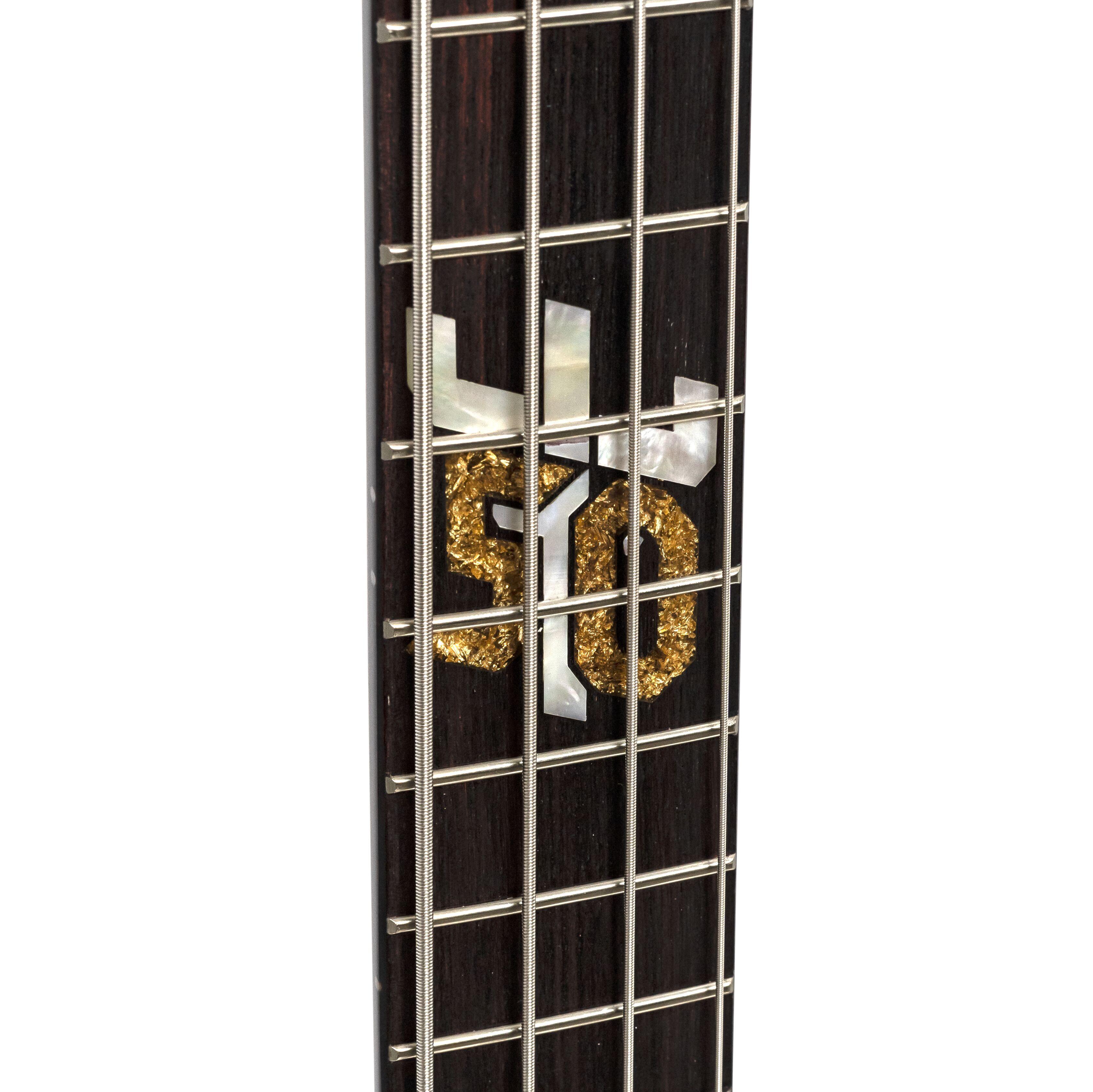 Spector Euro 4, 50th Anniv. Ian Hill Signature model, Black