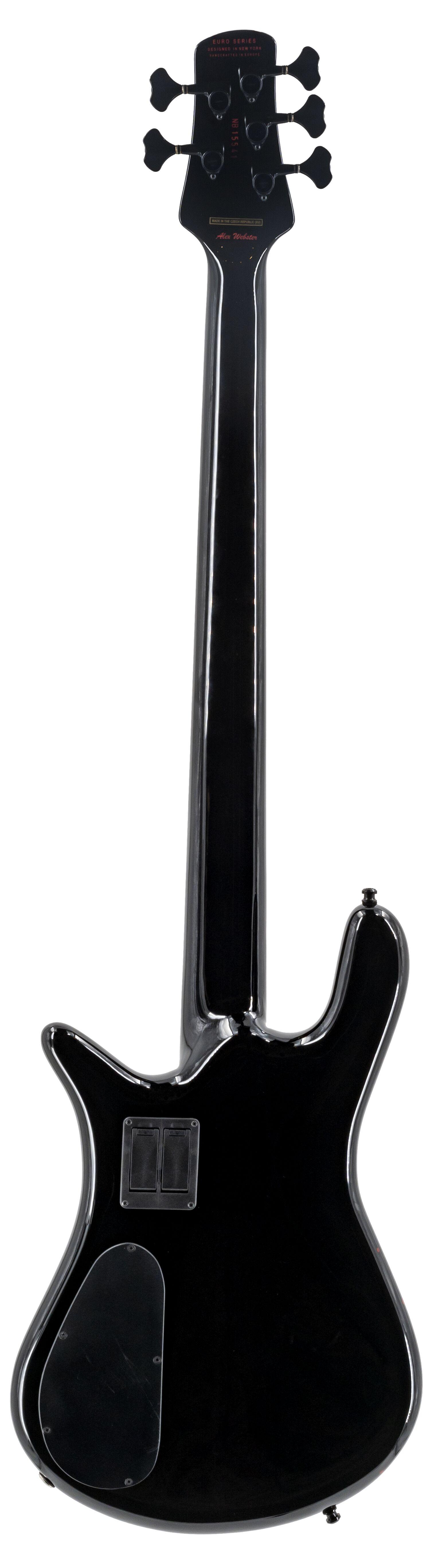Spector Euro5 Alex Webster Standard 2, Solid Black Gloss