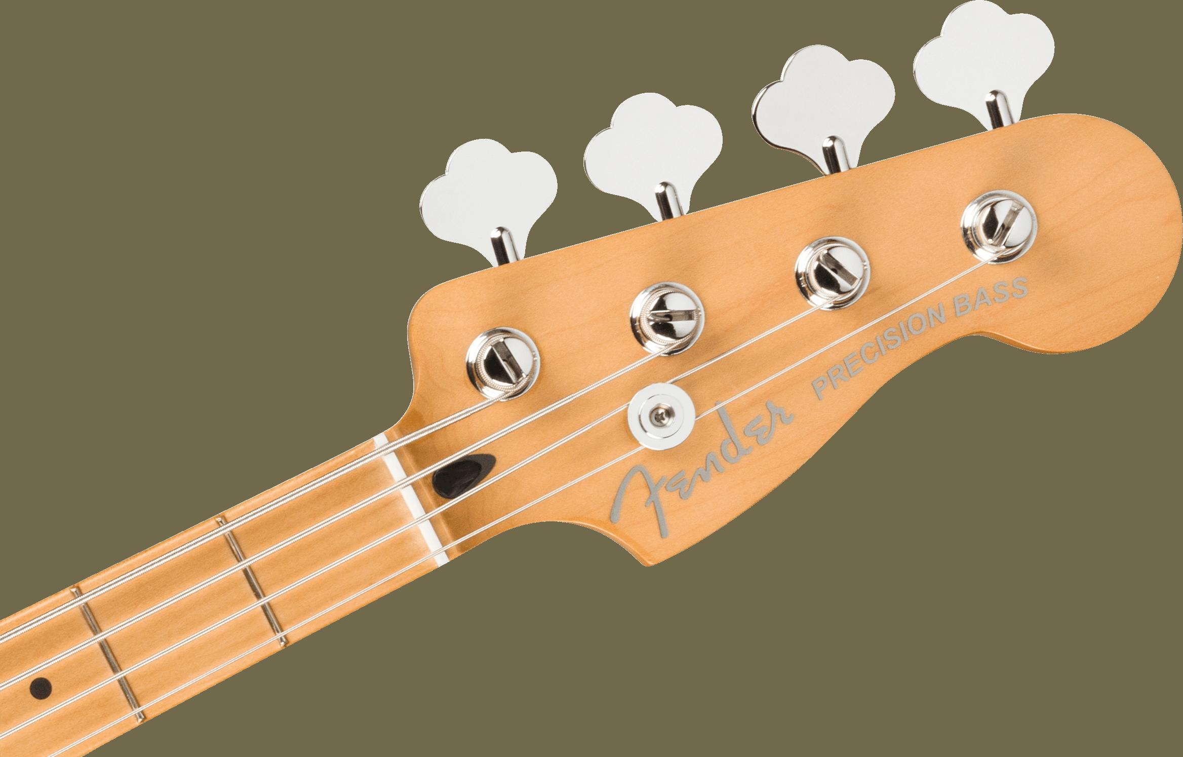 Fender Player Plus Precision Bass, Maple Fingerboard, Cosmic Jade