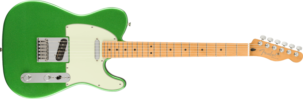 Fender Player Plus Telecaster, Maple Fingerboard, Cosmic Jade