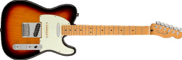Fender Player Plus Nashville Telecaster, Maple Fingerboard, 3-Color Sunburst