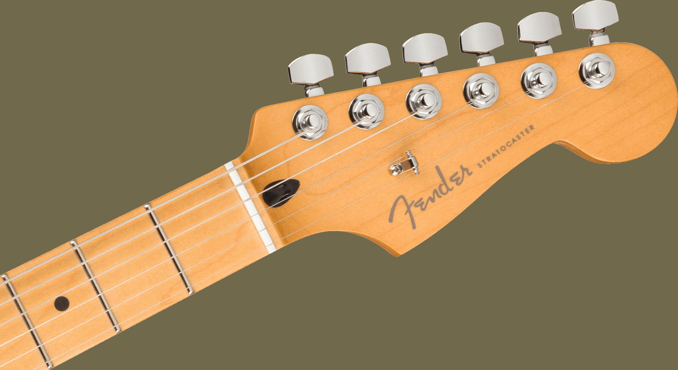Fender Player Plus Stratocaster, Maple Fingerboard, 3-Color Sunburst
