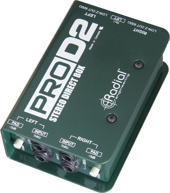 Radial PROD2 Stereo Passive Direct Box