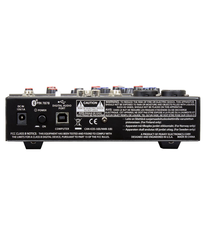 Peavey PV-6-BT Mixer
