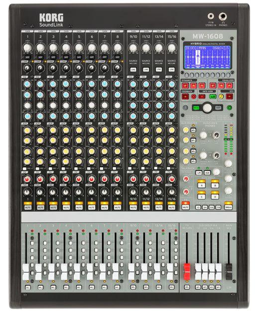 Korg Mw-1608 Hybrid Mixer