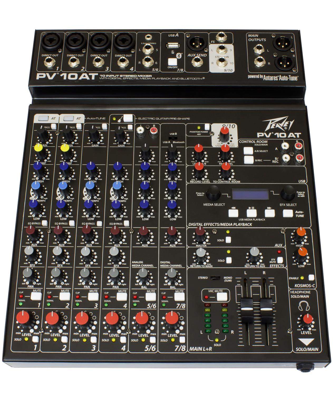 Peavey PV-10-AT Mixer