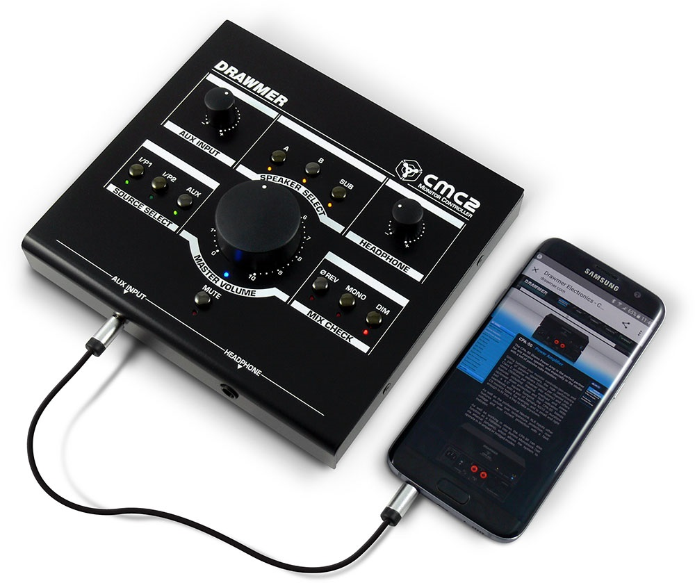 Drawmer Cmc2 Monitor Control