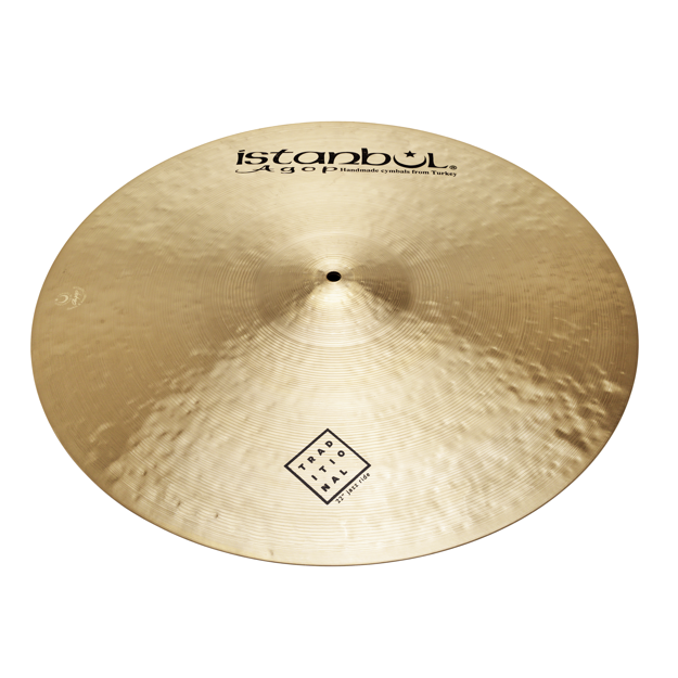 """Istanbul Agop 22"""" Traditional Jazz Ride"""